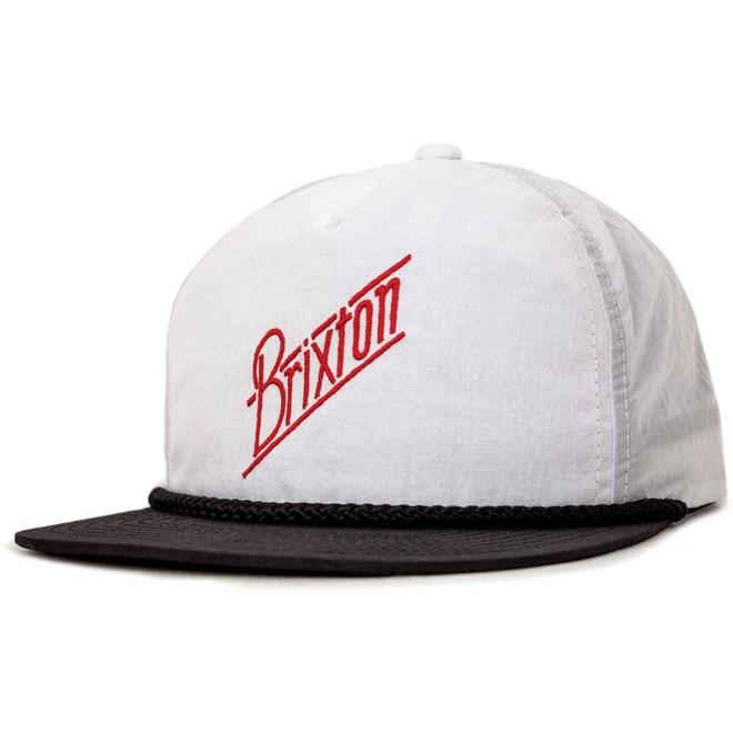 kšiltovka BRIXTON - Wilson Snap Back White/Black (0203)