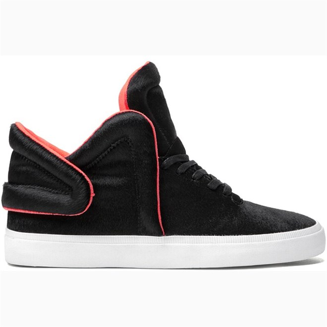 boty SUPRA - Falcon Black/Neon Orange (BLK)