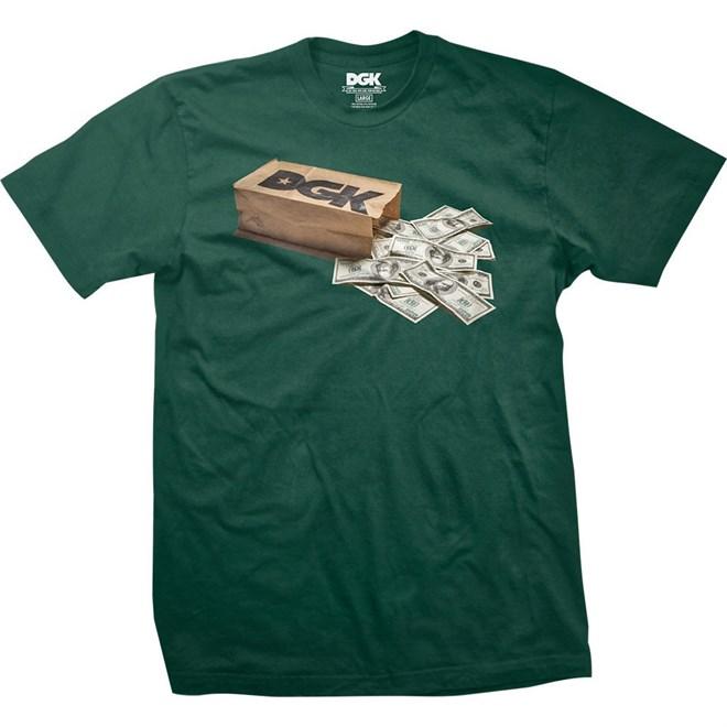triko DGK - Money Bag Forest Green (FOREST GREEN)