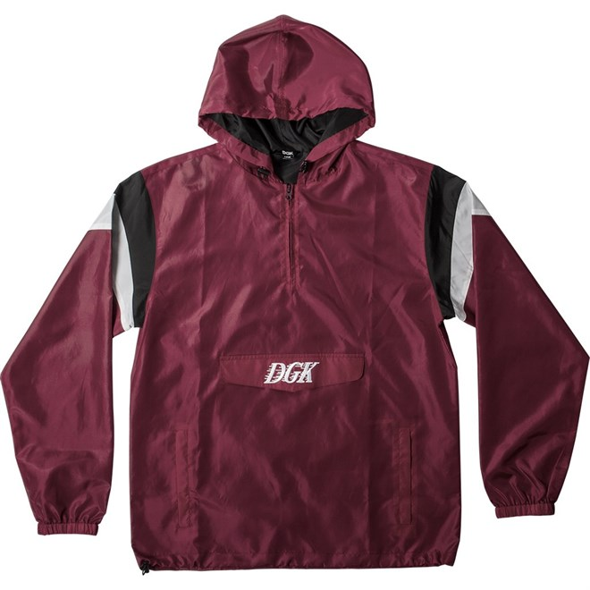 bunda DGK - Offside Windbreaker Burgundy (BURGUNDY)