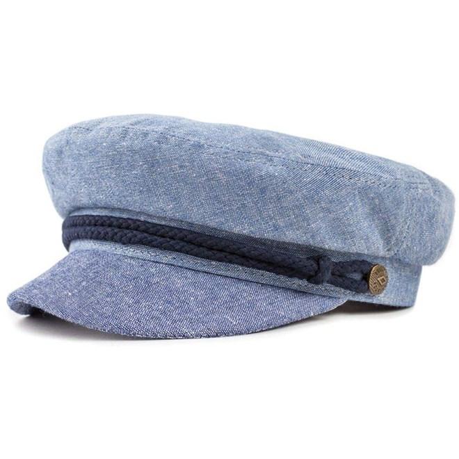 čepice BRIXTON - Fiddler Cap Light Blue/Navy (LBLNV)