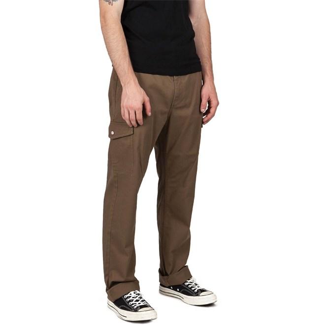 kalhoty BRIXTON - Fleet Cargo Pant Dark Khaki (DKKHK)