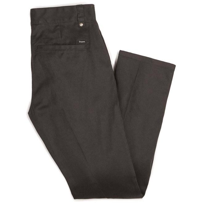 kalhoty BRIXTON - Fleet Rgd Chino Pant Black (BLACK)