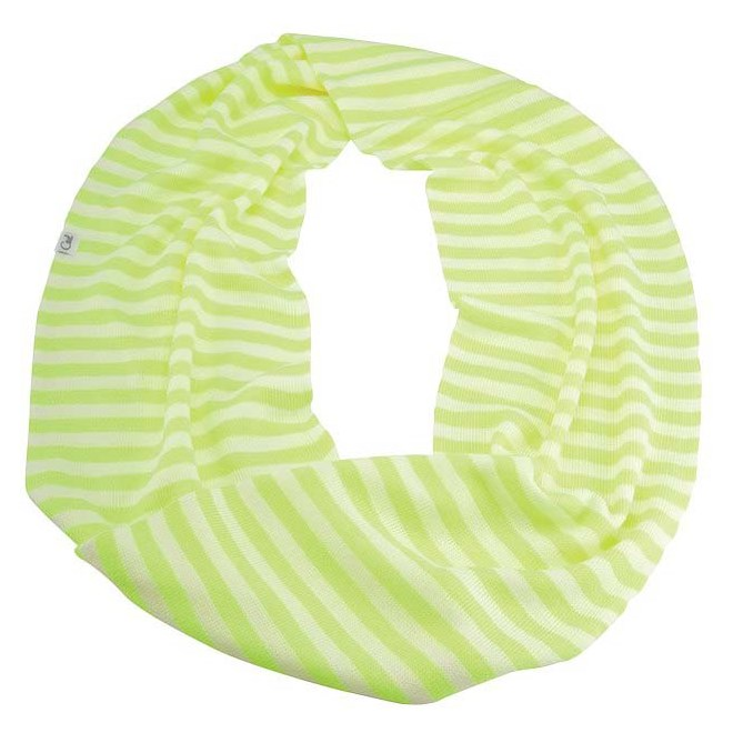 šála COAL - The Jessie Scarf Neon Yellow (02)