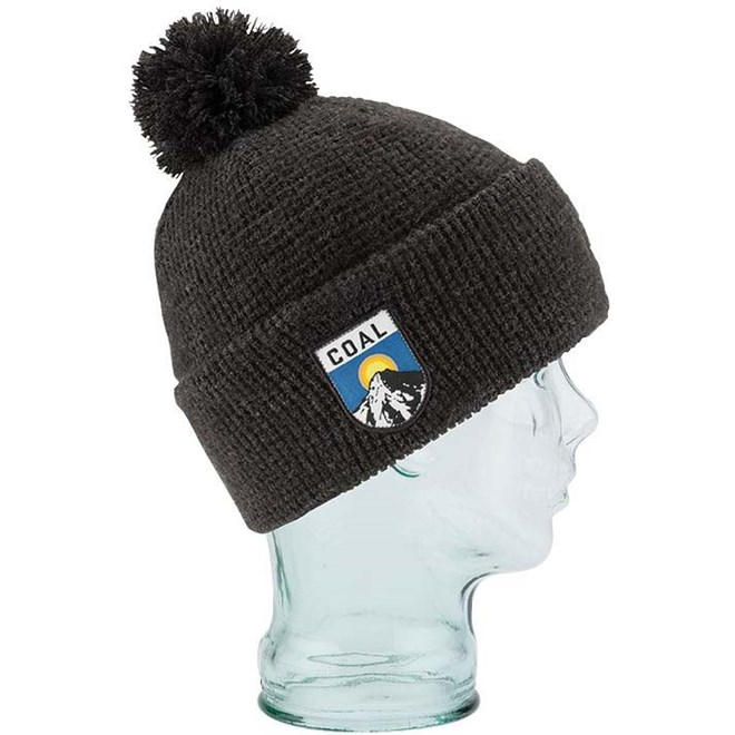 kulich COAL - The Summit Beanie Heather Black (04)