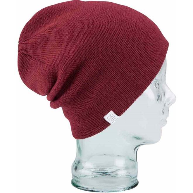 czapka zimowa COAL - The FLT Burgundy (17)