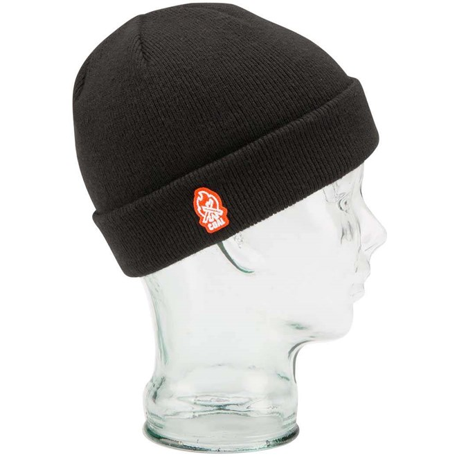 kulich COAL - The Junior Beanie Black (01)