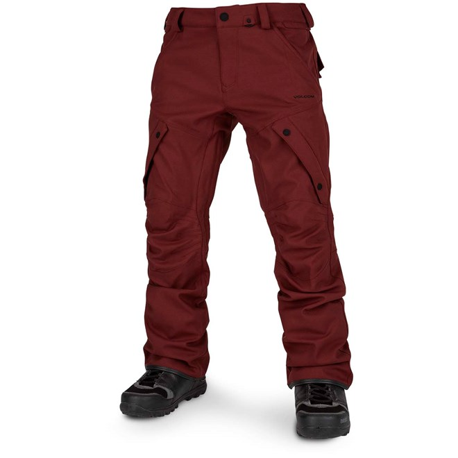 kalhoty VOLCOM - Articulated Pant Burnt Red (BTR)