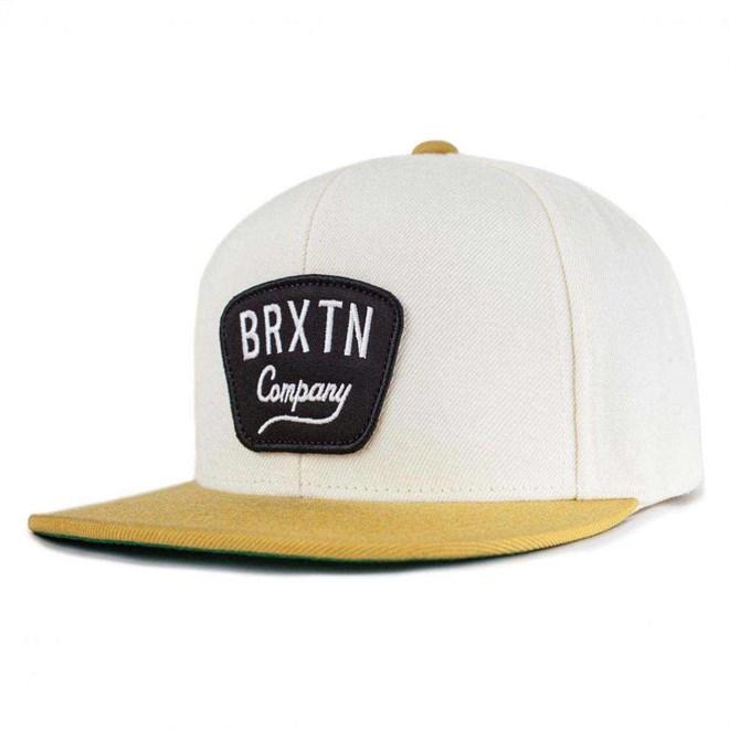 kšiltovka BRIXTON - Gaston Off White/Gold (OFFGL)