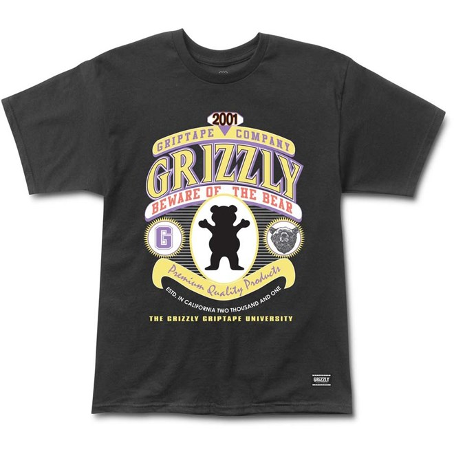 triko GRIZZLY - West Conference Black (BLK)