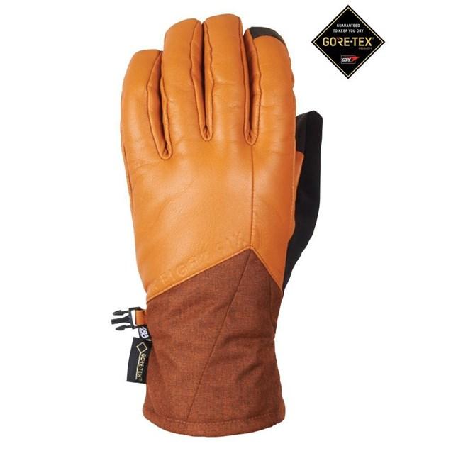 rukavice 686 - Goretex Lthr Theorem Glove Copper Leather (COPR)