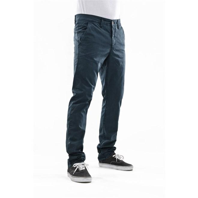 kalhoty REELL - Grip Tapered Chino Tundra Blue (TUNDRA BLU)