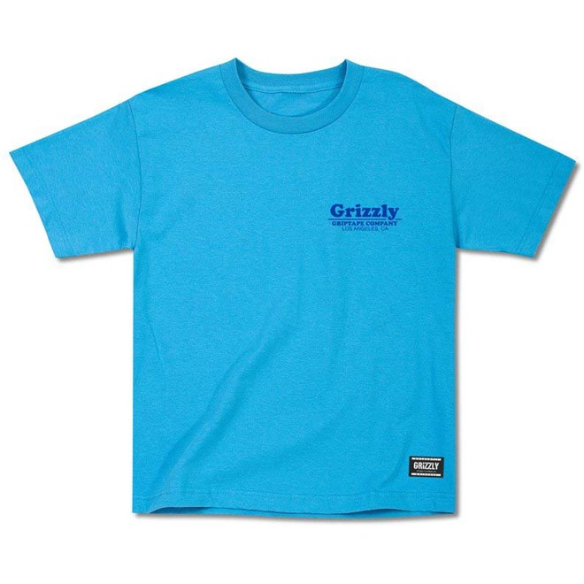 triko GRIZZLY - Pool Service Youth Tee Turquoise (TURQ)