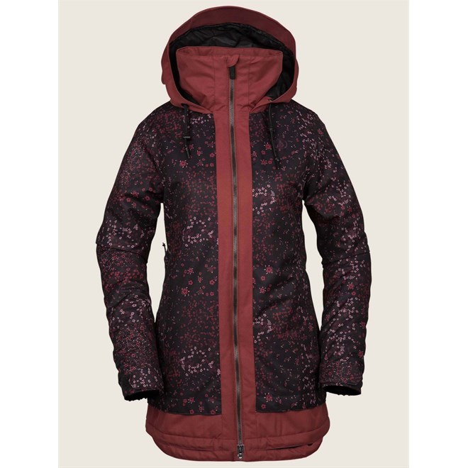 bunda VOLCOM - Westland Ins Jacket Black Floral Print (BFP)