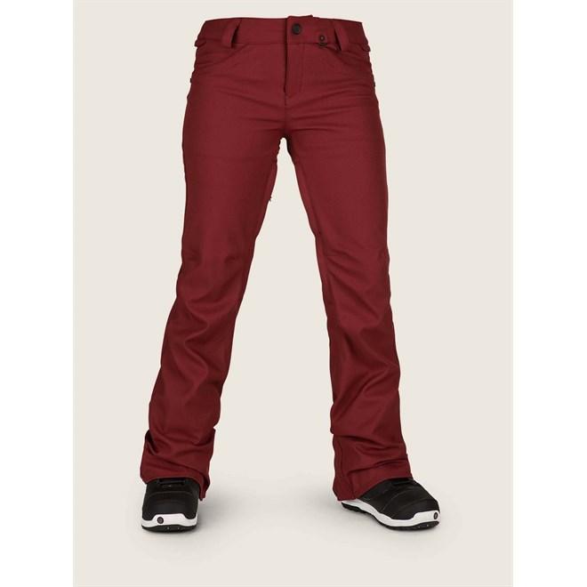 kalhoty VOLCOM - Species Stretch Pant Burnt Red (BTR)