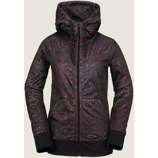 termo prádlo VOLCOM - Cascara Fleece Black Floral Print (BFP)