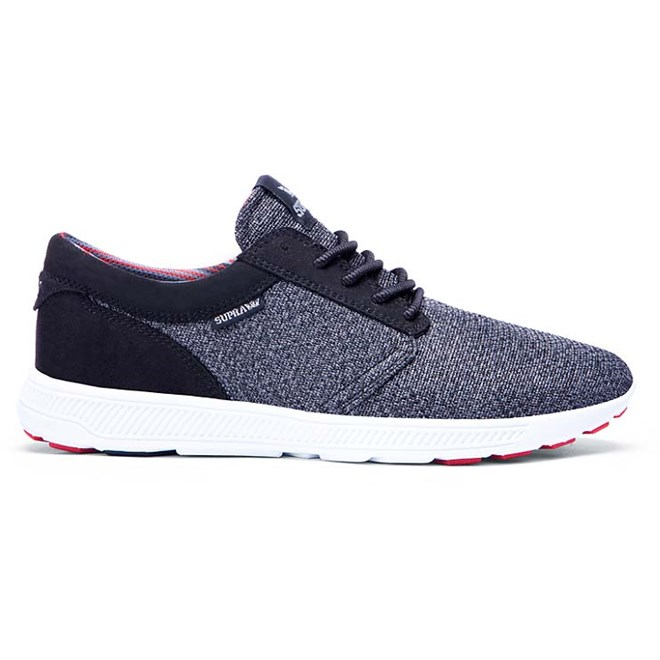 boty SUPRA - Hammer Run Charcoal Heather/Red/Blk-White (CHR)