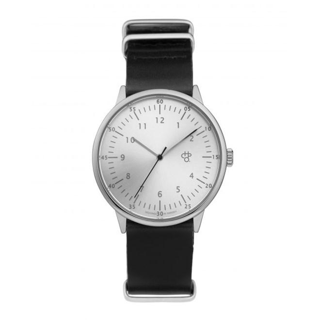 hodinky CHPO - Harold Silver/Black (SILVER/BLACK)