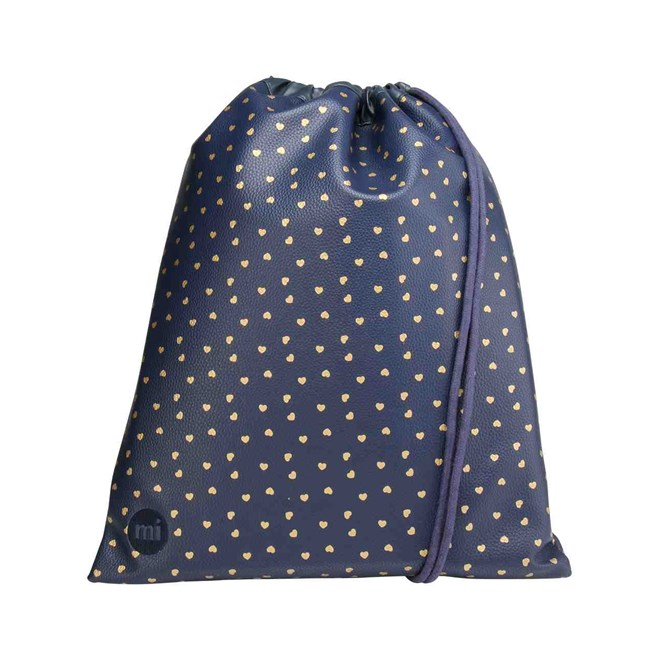 gymsack MI-PAC - Kit Bag Hearts Navy/Gold (004)