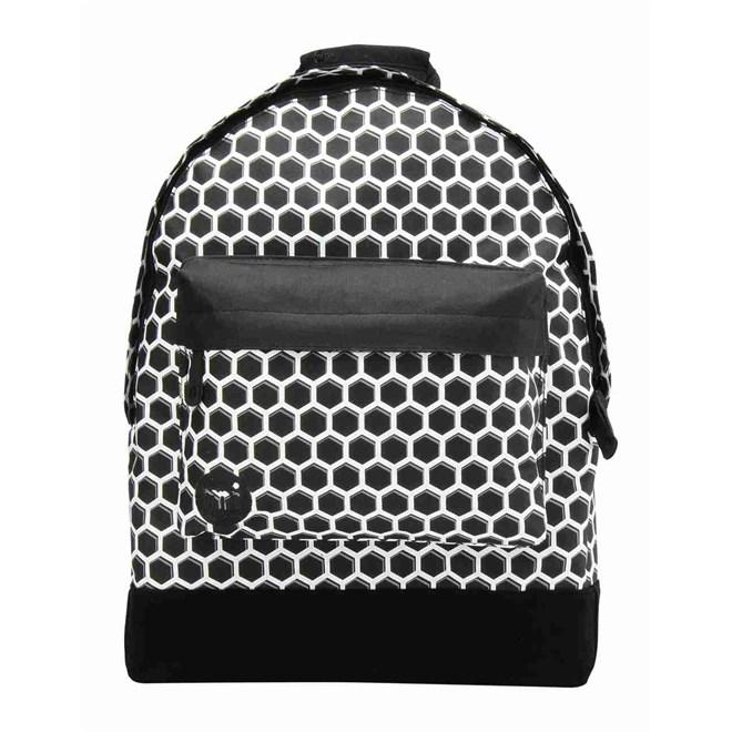 batoh MI-PAC - Honeycomb Black/White (012)