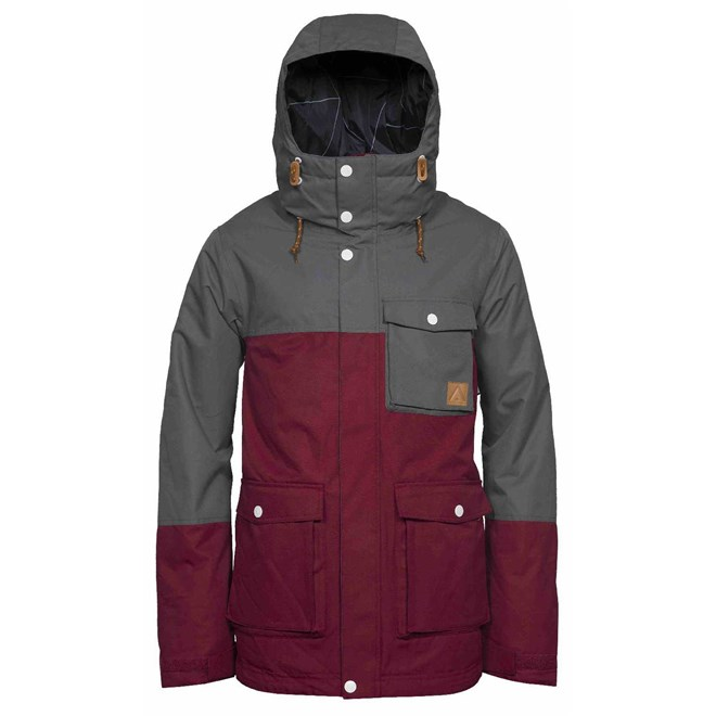 bunda CLWR - Horizon Jacket Burgundy (743)