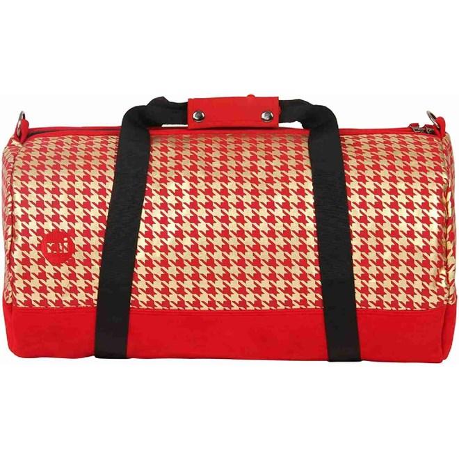 cestovní taška MI-PAC - Duffel Houndstooth Red/Gold (A02)