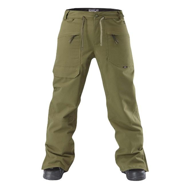 kalhoty WESTBEACH - Howard Olive (1143)