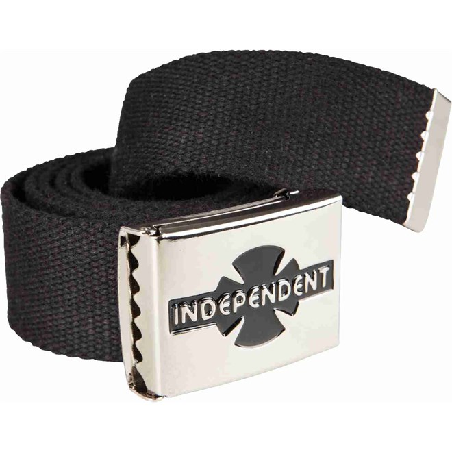 pásek INDEPENDENT - Clipped Black (BLACK)