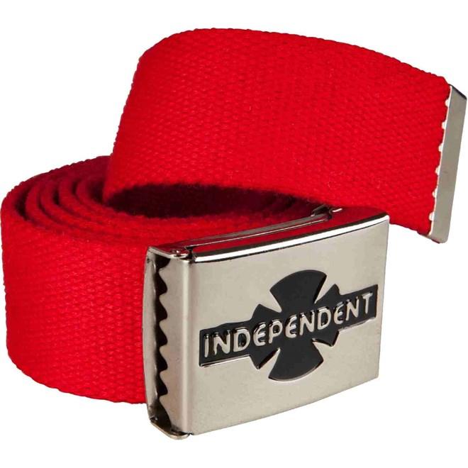 pásek INDEPENDENT - Clipped Cardinal Red (CARDINAL RED)
