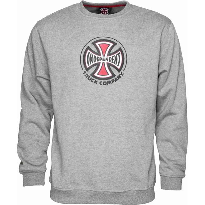 Sweatshirt INDEPENDENT - Truck Co. Crew Dark Heather (DARK HEATHER)