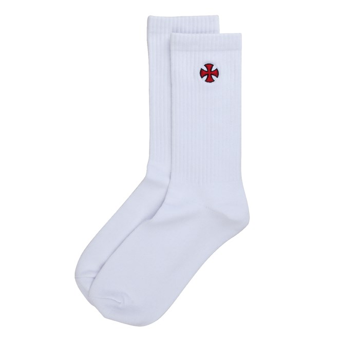ponožky INDEPENDENT - Cross Sock White (WHITE)