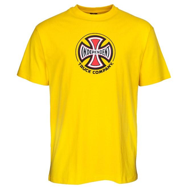 triko INDEPENDENT - Truck Co. Tee Yellow (YELLOW)