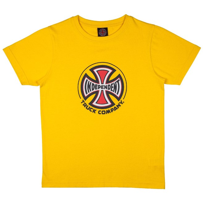 triko INDEPENDENT - Youth Truck Co. Tee Yellow (YELLOW)