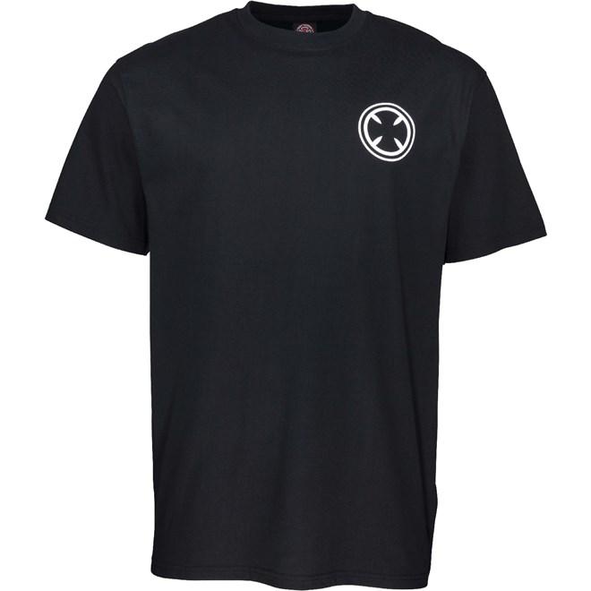 triko INDEPENDENT - Gouge T-Shirt Black (BLACK)