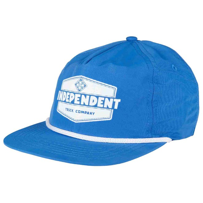 kšiltovka INDEPENDENT - Industry Cap Royal/White (ROYAL-WHITE)