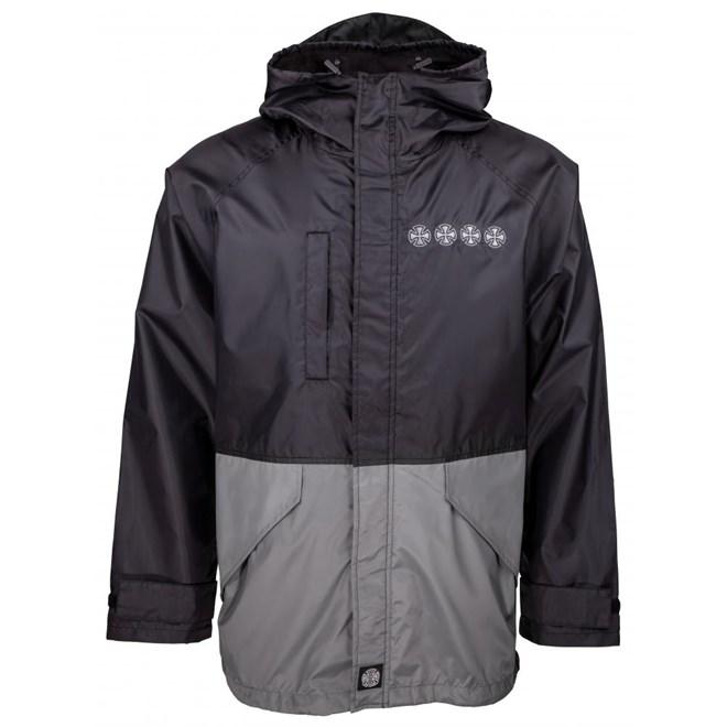 bunda INDEPENDENT - Breaker Jacket Black/Charcoal  (BLACK-CHARCOAL )