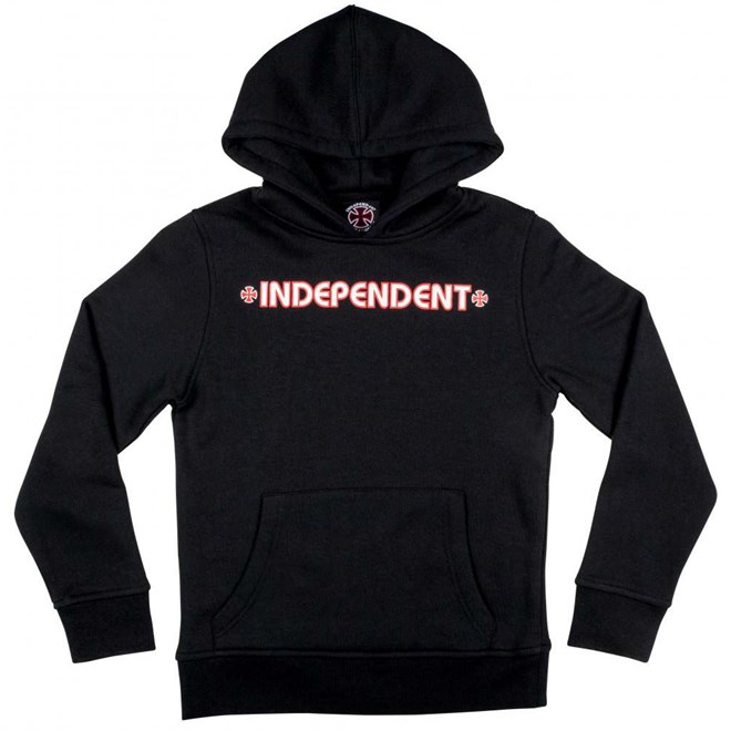 mikina INDEPENDENT - Bar Cross Black (BLACK) velikost  8-10 ... 935694acaeb