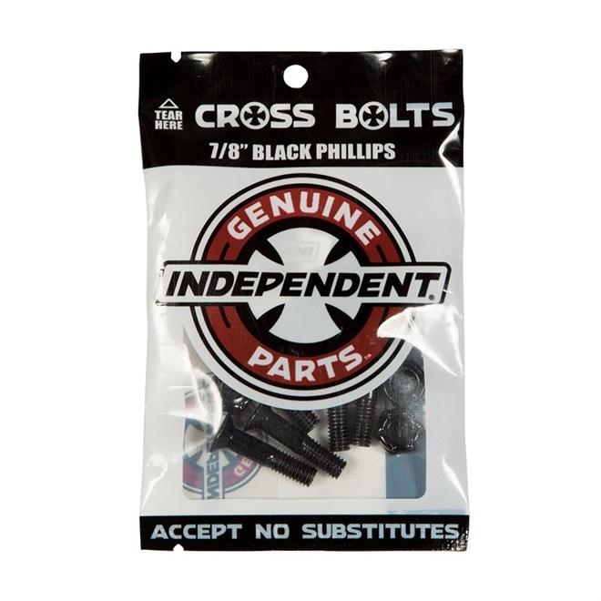 montażówki INDEPENDENT - Genuine Parts Phillips Hardware Black Bx12 Pks/8 (88760)