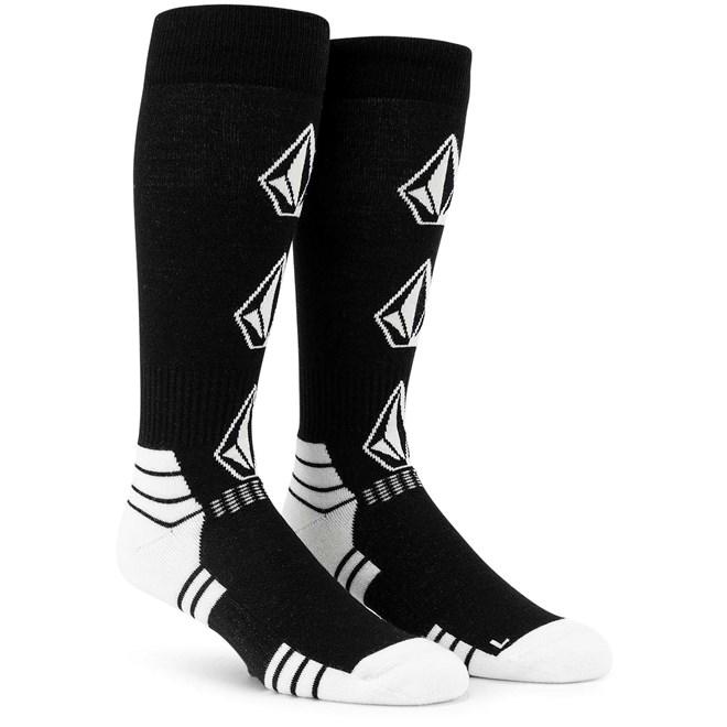 ponožky VOLCOM - Synth Sock Black (BLK)