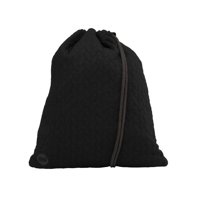 gymsack MI-PAC - Kit Bag Jersey Rope Black (008)