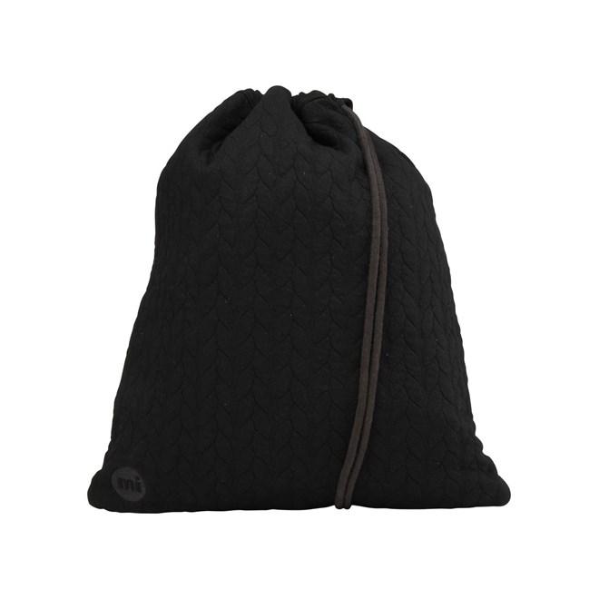 gymsack MI-PAC - Kit Bag Jersey Rope Black (008)