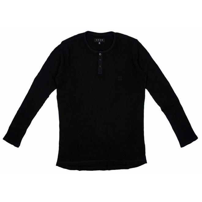 košile KREW - Colvin Black (BLK)