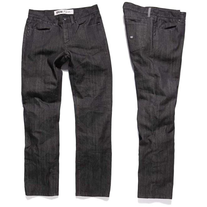 kalhoty KREW - K Slim Basics (BLK)