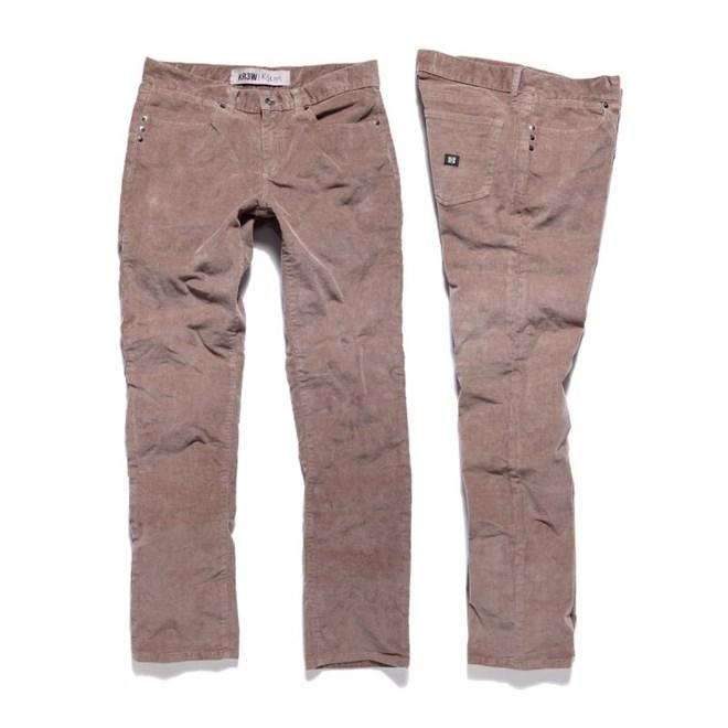 kalhoty KREW - K Slim Basics (TBC)