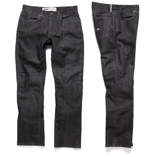 kalhoty KREW - Klassics Basics (BLK)