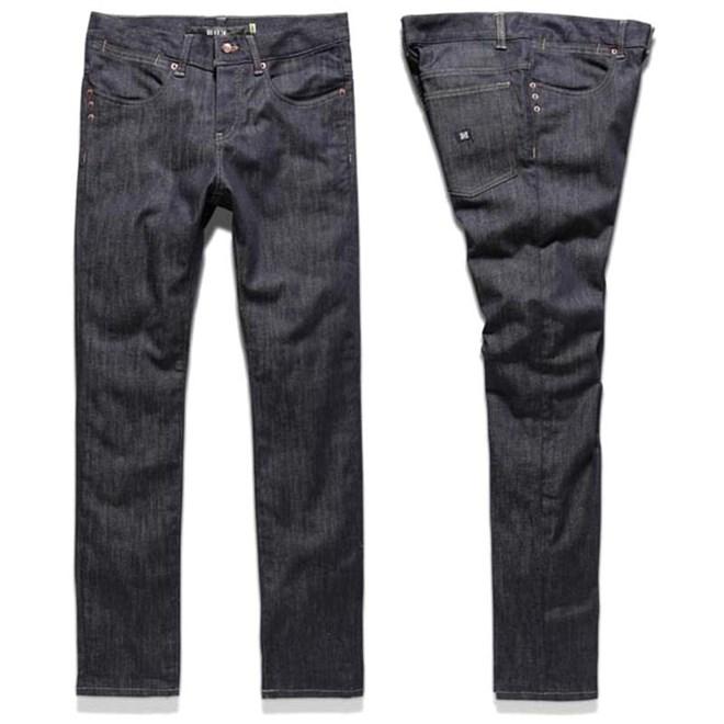 kalhoty KREW - K Skinny Denim Raw Blue (RAW)