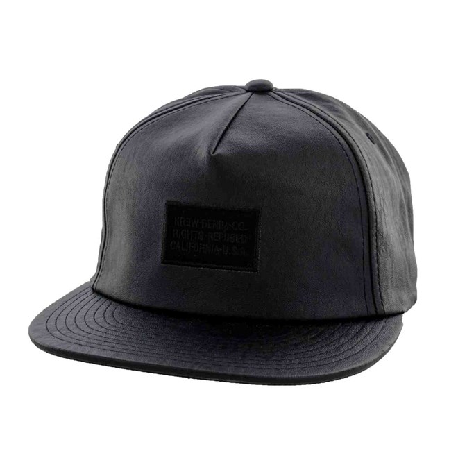 kšiltovka KREW - Refused Co. Slider Black (BLK)