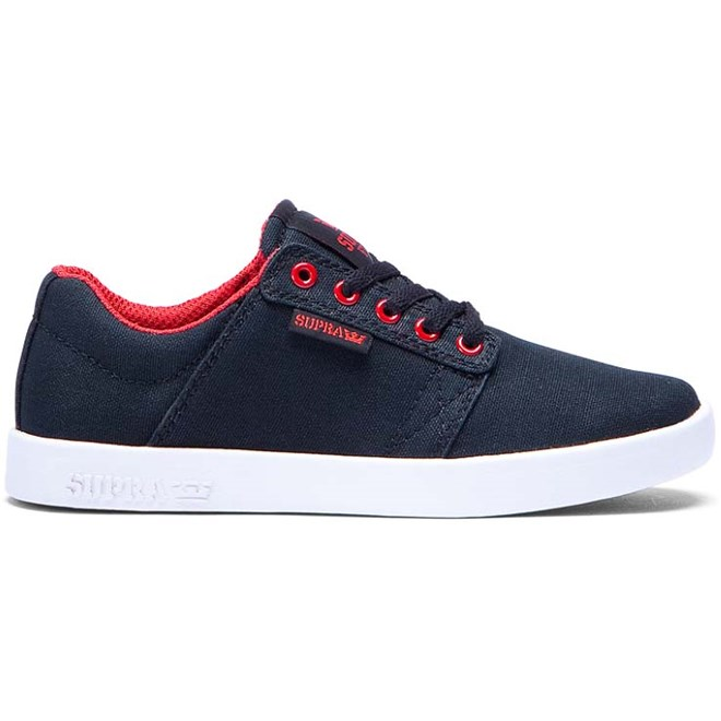 boty SUPRA - Kids Westway Black/Red-White (BKR)