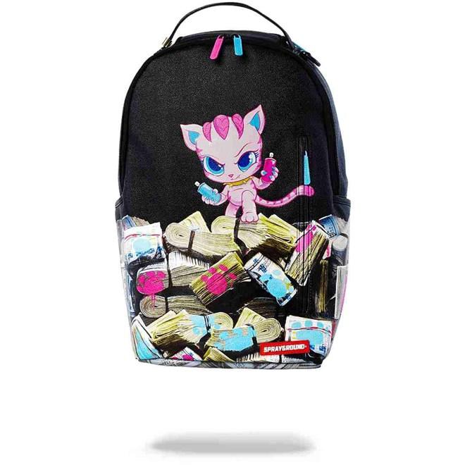 Backpack SPRAYGROUND - Kitten Money Stacks Backpack (MULTI)