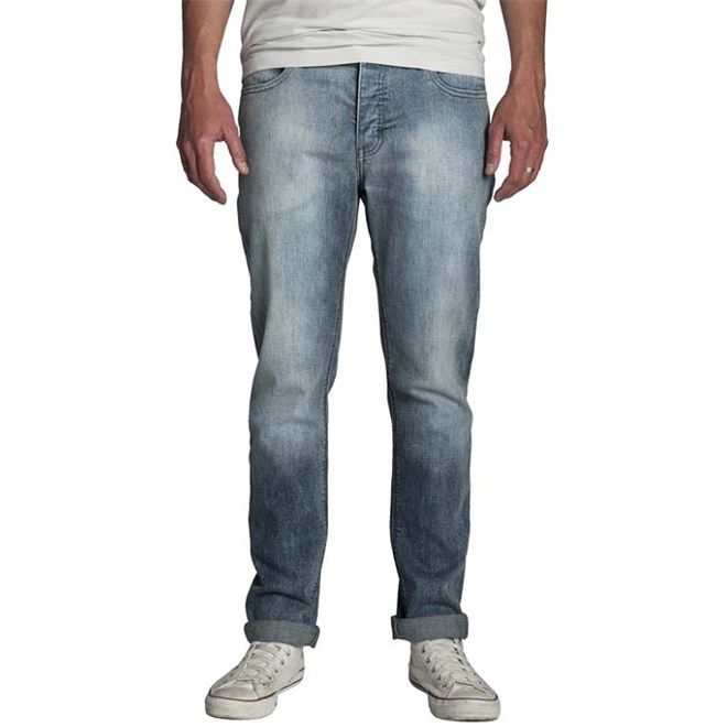 kalhoty KREW - K Slim Light Stone (VBL)